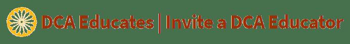 Invite an educator logo